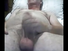 grandpa stroke and play on cam