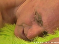 Gandpa Gets Fucked By His Young Masseur