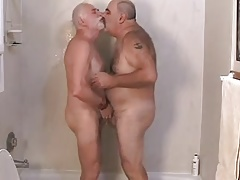 Two Hot Daddies Getting Off