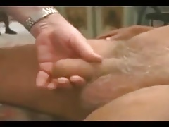 Two older mature men sucking each other