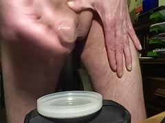 simply showing my cum