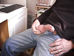 Having a Wank and cum