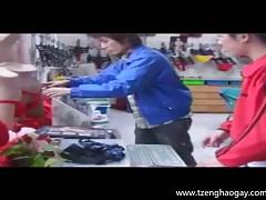 The Red Underwear Threesome