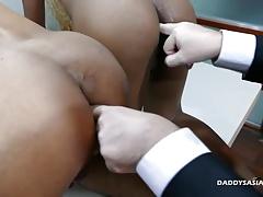 Daddy and Asian Boys Raw Threesomne