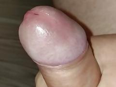 Thick cock slo mo pre cum