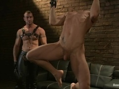 Phillip Aubrey gets his ass spanked and drilled by Spencer Reed