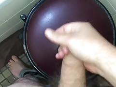 Quick squirt onto chair!