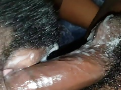 Sloppy dome and cumming on my ass