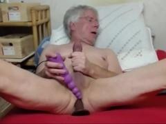old man jack off On web camera