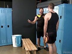 Big Hairy Jock Dude Fucks Furry Daddy's Ass Hole After Sport