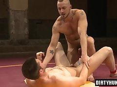 Muscle gay oral sex and facial