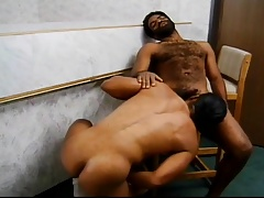 two hung dudes go to pound town on each other