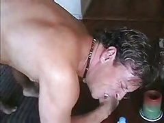 Cum swallowing after fucking