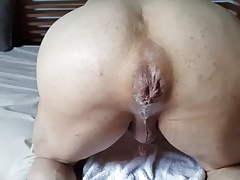 Cum leaking out