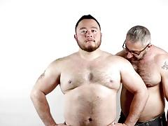 two muscle men