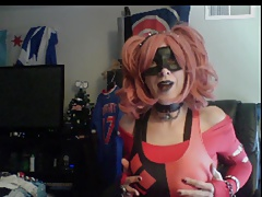 Double Squirting Crossdresser (whole show) by vikkicd16
