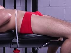 Muscle Ian Greene Workout BDSM Gay Bondage Whipping Slave