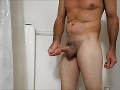 Shower wank sample