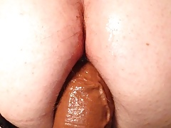Love this huge dildo