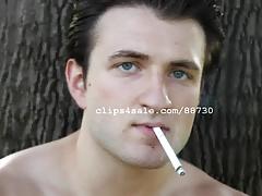 Smoking Fetish - Chris Smoking Video 2