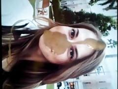 Yulia Putintseva Facial Cum Tribute