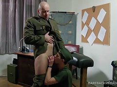 General Hell Barebacks Young Soldier Ryan