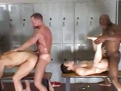 Bareback Group fucking II (Entire Movie)