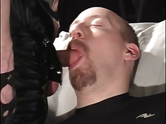 Hot sexy guy whore getting oral