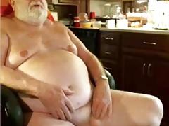 grandpa couple play on cam