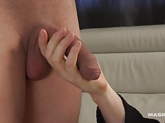 Maskurbate Marc's Perfect Cock gets Worshiped