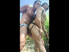 BREEDING ARMOND RIZZO ON HIKING TRAILS