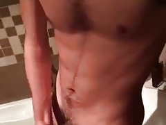handjob in the bath 2