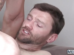 Handsome daddy Dennis West penetrates Paul Canons eager ass