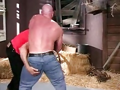Wrestling at the Barn