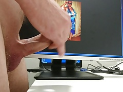Great cumshot tribute on russian mature women