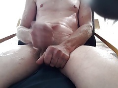 Me masturbating