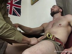 Eric Bareback Fucks Young Ryan