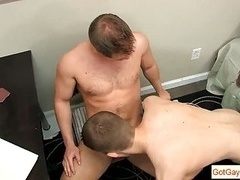 Dylan gets his good penis sucked by gotgayboss