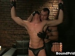 Spencer Philip in extremely extreme queer bondage action