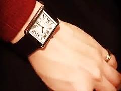 Cartier Tank on Wrist
