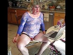 sissy fag dana's on cam humiliation