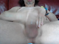 jerk and cum on cam