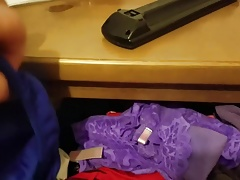 Buddy's girlfriends panty drawer