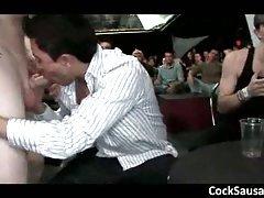 Huge gay sausage party