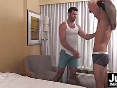 Ashton McKay is about to give Billy Santoro his raw dick