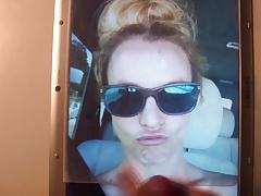 Britney Spears Cum Tribute 66