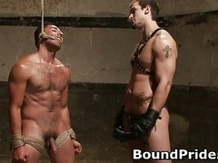 Penix and also Gianni hunky studs extreme BDSM homosexual porn