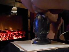 pumped arse rosebud butt plugged