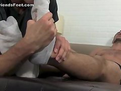 Worship Muscle Hot Feet