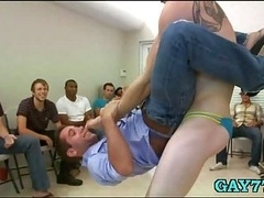 Getting down and dirty horny men mouths